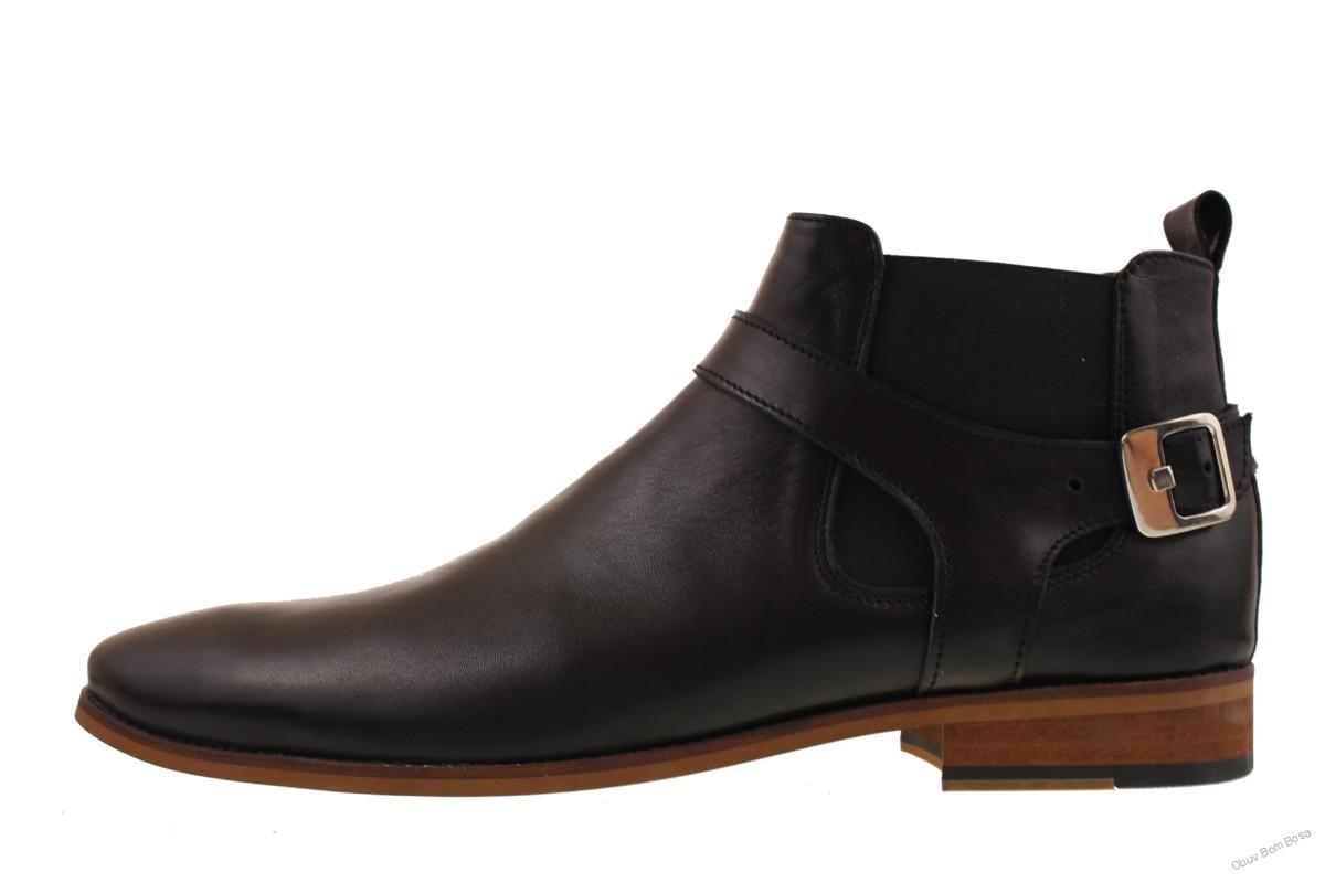 2fea7e543f88 Čierne kotníkové pánské topánky