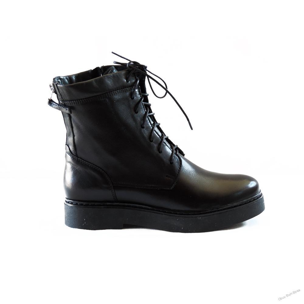 163c115661 Čierne dámske kožené čižmy
